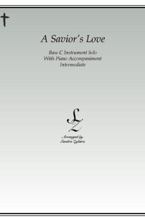 A Savior's Love -Bass C Instrument Solo