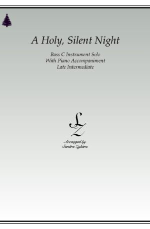A Holy, Silent Night -Bass C Instrument Solo