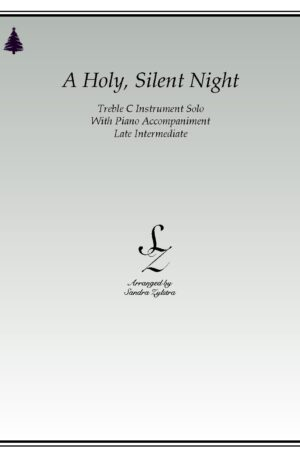 A Holy, Silent Night -Treble C Instrument Solo