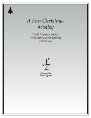 A Fun Christmas Medley -Treble F Instrument Solo