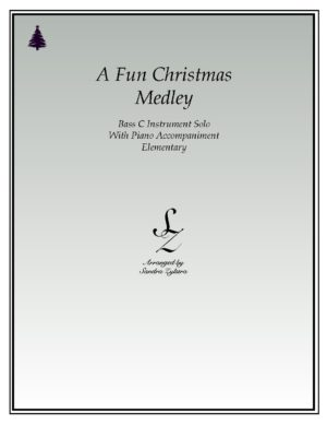 A Fun Christmas Medley -Bass C Instrument Solo