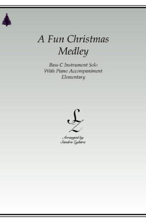 A Fun Christmas Medley -Bass C Instrument Solo