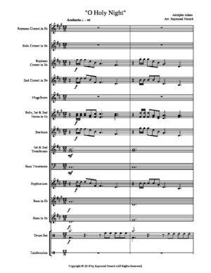 O Holy Night – Brass Band