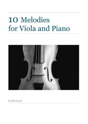 10 Melodies For Viola And Piano