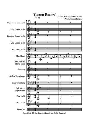 Canon Resort – J.Pachabel – Brass Band