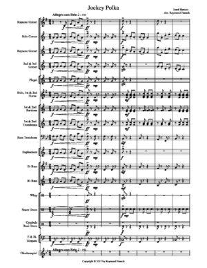 Jockey Polka – Josef Strauss – Brass Band