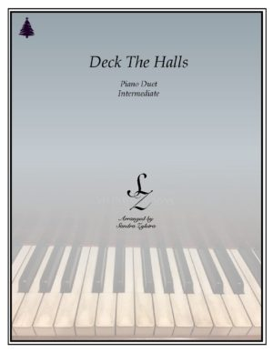 Deck The Halls -Intermediate Piano Duet