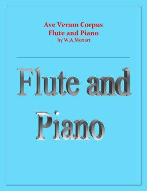 Ave Verum Corpus – Flute and Piano