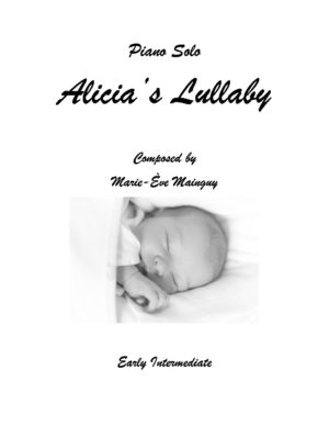 Alicia's Lullaby – Piano Solo