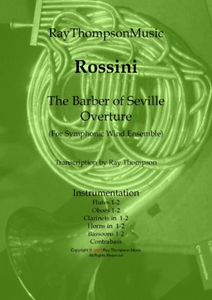 Rossini: The Barber of Seville Overture (Complete) – symphonic wind