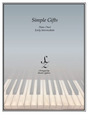 Simple Gifts -Early Intermediate Piano Duet