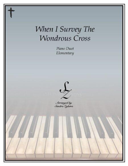 PD E 05 When I Survey The Wondrous Cross pdf