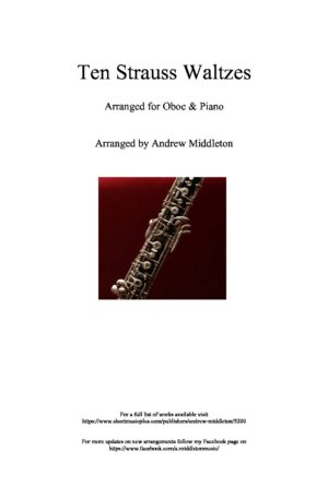 10 Strauss Waltzes for Oboe and Piano