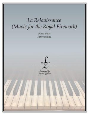 La Rejoiussance- Music for the Royal Firework -Intermediate Piano Duet