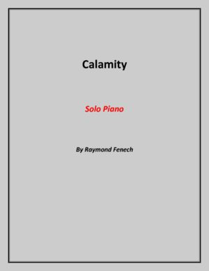 Calamity – for Piano