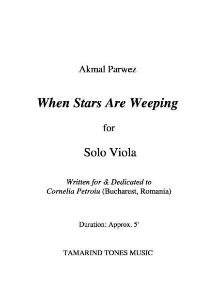 When Stars Are Weeping Viola Title 2 pdf