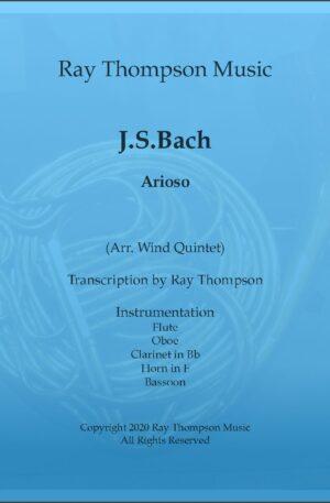 Bach: Arioso – wind quintet