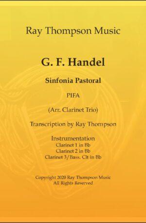 Handel: Sinfonie Pastoral (Pastoral Symphony)(Pifa) from The Messiah (Der Messias) – clarinet trio