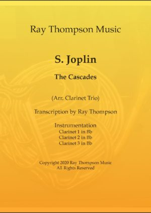 "Scott Joplin: ""The Cascades"" – clarinet trio"