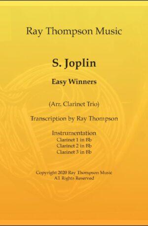 Scott Joplin: The Easy Winners (Rag) – clarinet trio