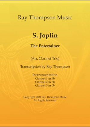 "Scott Joplin: ""The Entertainer"" (in cut time/alla breve) – clarinet trio"