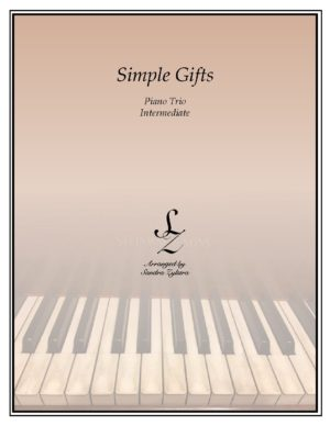 Simple Gifts – Piano Trio