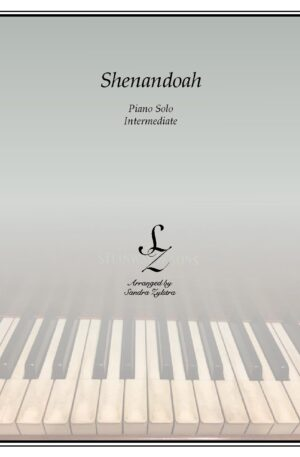 Shenandoah -Intermediate Piano Solo