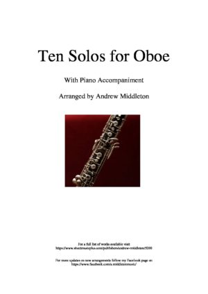 Ten Romantic Solos for Oboe and Piano