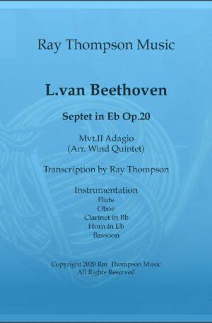 Beethoven: Septet in Eb major Op.20 II. Adagio – wind quintet