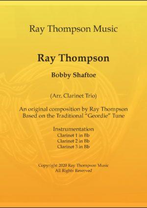 Thompson: Bobby Shaftoe – clarinet trio