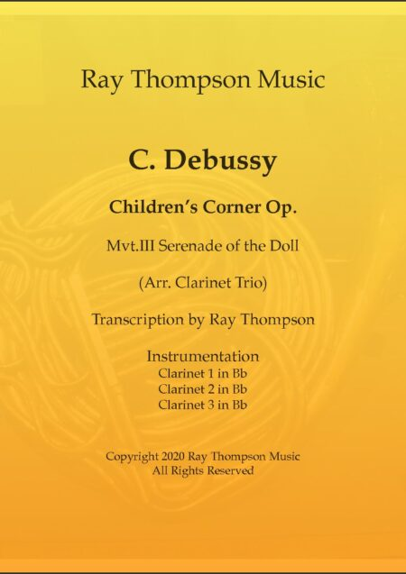 III Serenade of the Doll cl3 transposed into Eb title pg pdf