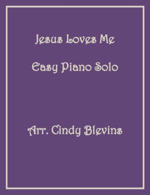 Jesus Loves Me, Easy Piano Solo