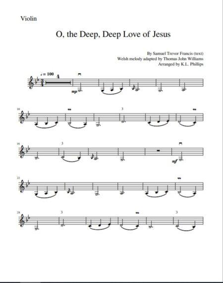 O the Deep Deep Love Sample page 3