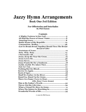 Jazzy Hymn Arrangements-Book One