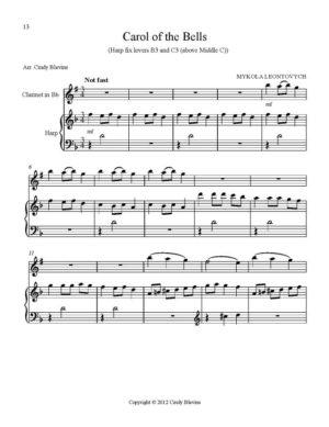 Harp and Clarinet For Christmas, Vol. II (14 arrangements)