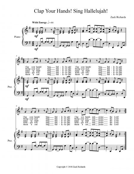 Clap Your Hands Sing Hallelujah page 003 scaled