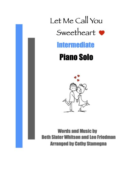 Intermediate Piano Let Me Call You Sweetheart title JPEG