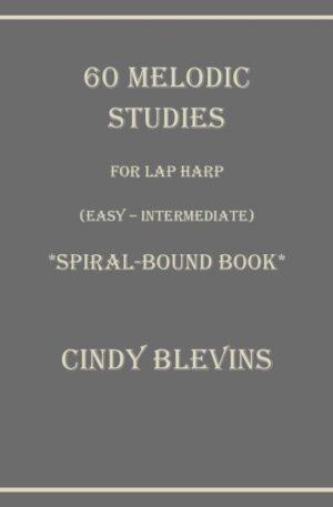 60 Melodic Studies, Lap Harp