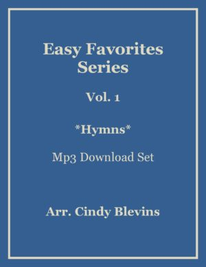 Easy Favorites for Harp, Vol. 1, Hymns, mp3 recordings