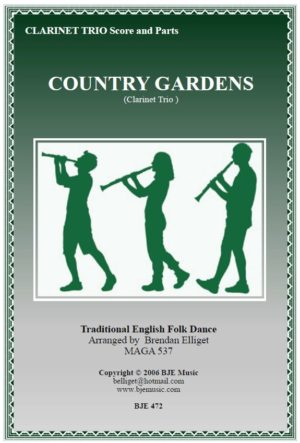 Country Gardens – Clarinet Trio