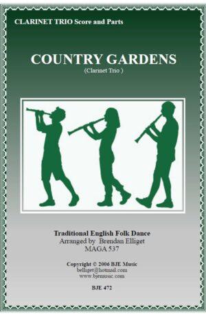 Country Gardens – Clarinet Trio