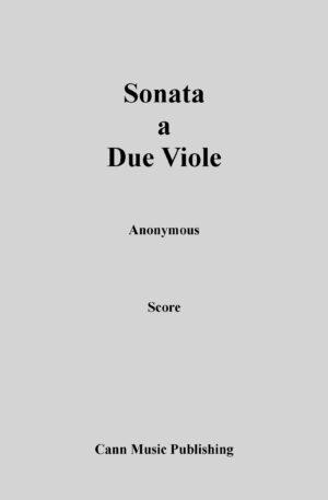 Sonata a Due Viole
