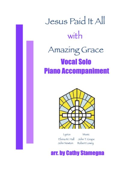 Vocal Solo Jesus Paid It All Amazing Grace title JPEG