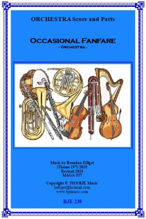 Occasional Fanfare – Orchestra