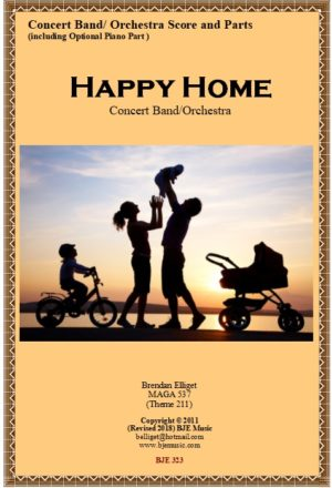 Happy Home – Concert Band/Orchestra