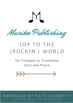 Joy to the (Rockin') World – Trumpet or Trombone Solo with Piano Accompaniment