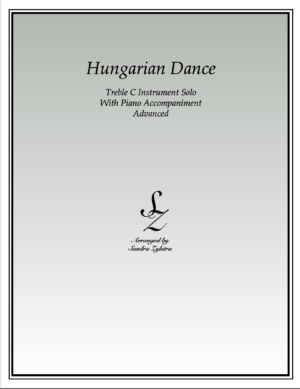 Hungarian Dance -Treble C Instrument Solo