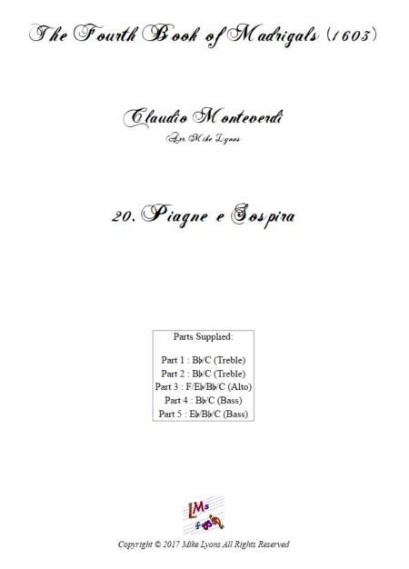 Madrigals Book 4 20