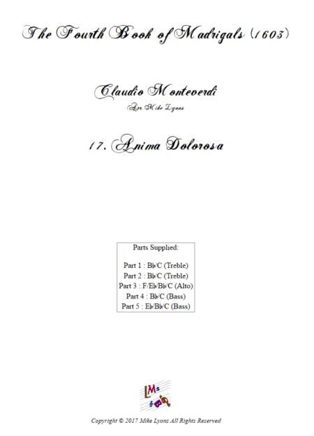 Madrigals Book 4 17