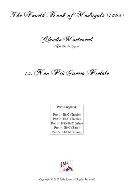 Madrigals Book 4 15